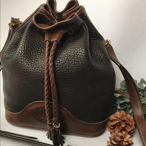 Vintage Dooney & Bourke Drawstring Bucket Bag